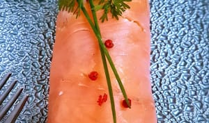 Bûchette au saumon fumé