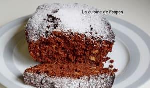 Cake aux bananes et chocolat