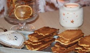 Gaufrettes aux épices de pain d'épices