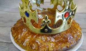 Galette des rois à la frangipane et à l'orange