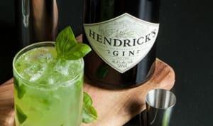 Cocktail Basil Smash Gin