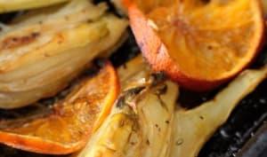 Fenouil rôti à l'orange