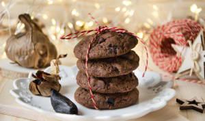 Cookies chocolat ail noir