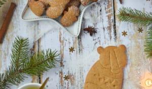 Biscuits de Noël façon pain d'épices