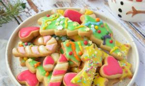 Biscuits de Noël à l'amande