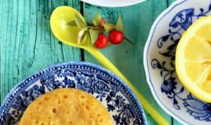 Moelleux au citron à la vapeur douce