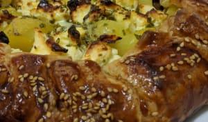 Tarte feuilletée légumes et fromage