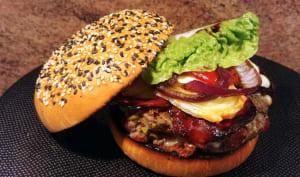 Donnez moi, Madame, svp, du ketchup pour mon burger