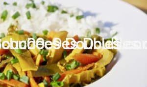 Wok alcalin de légumes