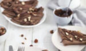 Crêpes chocolat noisette