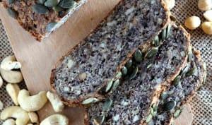 Pain sans farine aux graines et oléagineux