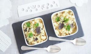 Celeri rave en risotto aux truffes