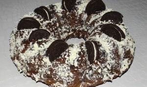 Bundt cake Oreo et chocolat extra moelleux