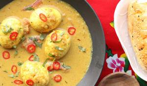 Curry aux oeufs comme en Malaisie