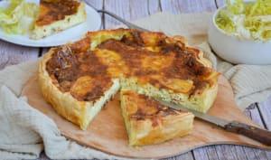 Quiche aux 4 fromages