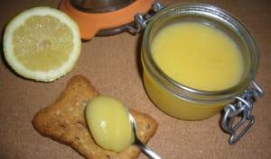 Lemon curd ou crème au citron à l'anglaise