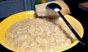 Risotto poires et gorgonzola