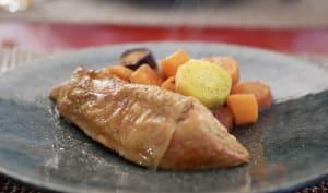Suprême de poulet et carottes gingembre