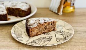 Gâteau poire et pralinoise