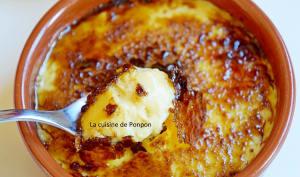 Crème brûlée au caramel au beurre salé Raffolé comme une crème catalane