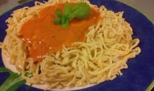Spaguetti maison