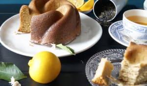 Gâteau au thé Earl Grey et citron bergamote