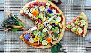 "Pizza ""Poisson d'avril"""
