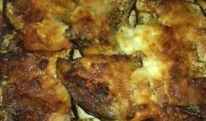 Lasagnes au bœuf, aubergines et burrata