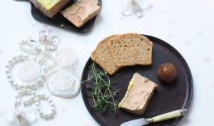 Foie gras cuisson vapeur au café