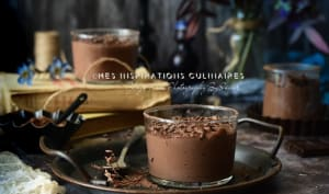 Flan chocolat italien
