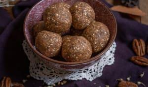 Bouchées crues aux noix de pécan et sarrasin