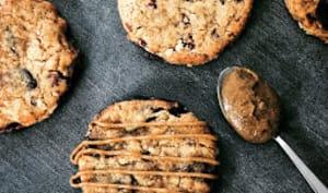 Cookies Chocolat-Pécan, praliné sésame de Yann Couvreur
