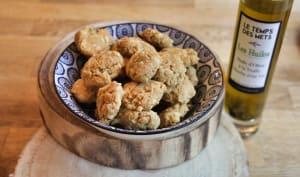Sablés truffes et parmesan
