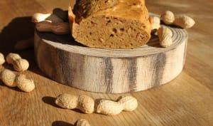 Pain à la cacahouètes sans glucides