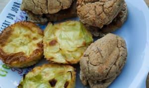 Mini quiches sans pâtes aux poireaux