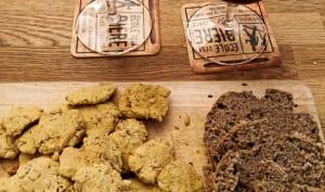 Biscuits sans gluten à la bière