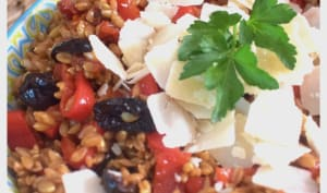 Salade de petit épeautre