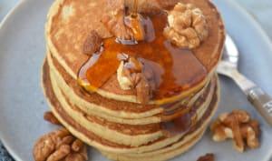 Pancakes express à la banane et à l'avoine
