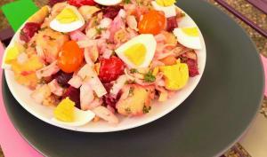 Endives façon salade de pommes de terre