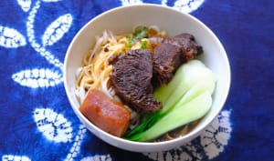Taiwanese Beef Noodle