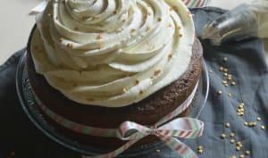 Cupcake géant d'anniversaire