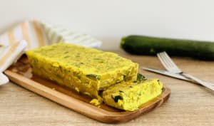 Flan courgettes curry coco