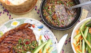 Côtes de porc au barbecue à la laotienne