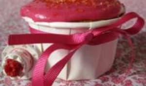 Cupcakes aux Cranberries, Grenadine et Orange