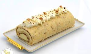 Roll Cake Citron Praliné