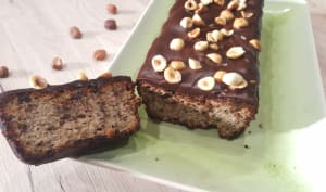 Gâteau ricotta, noisettes et chocolat