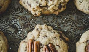 Cookies au chocolat et pécans