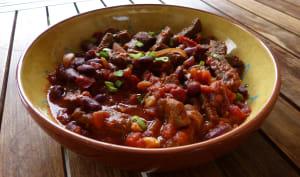 Chili con carne à la texane