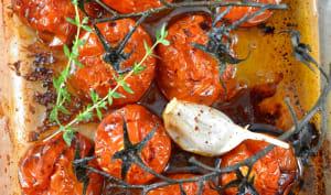 Tomates rôties au four