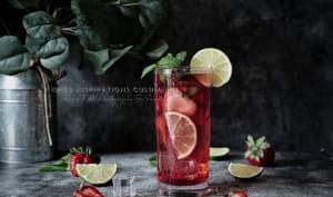 Virgin Mojito aux fraises